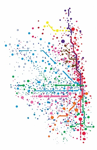 CTA Map, Jazmin Giron, Chicago Map
