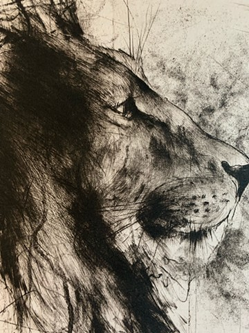 Big Cat (detail)