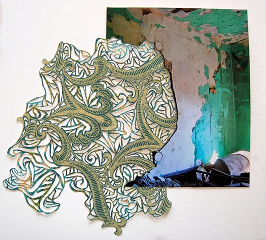 Palimpsest (Green)  SOLD