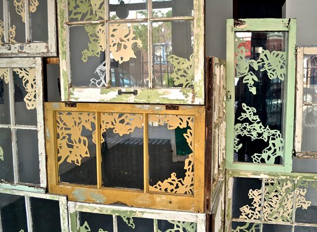 Window Assemblage (detail)