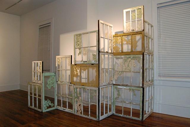 Untitled (Window Assemblage)