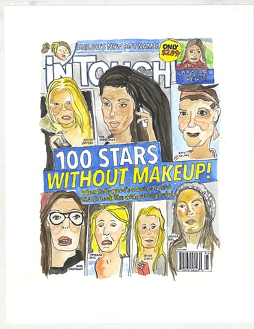 100 Stars Without Makeup