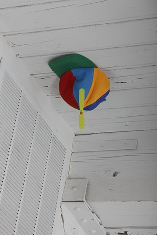 Joke #51: It's a Twirly Hat, Placed By a Vent For Some Wind To Hopefully Twirl