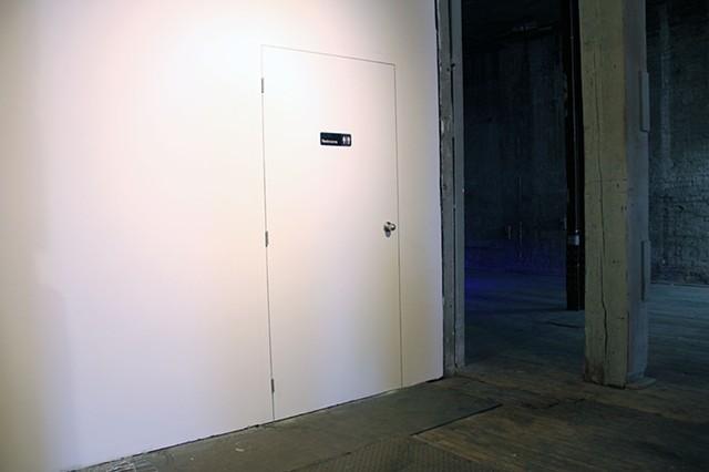 Poor Door: Prank Wall Drawing