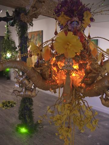 achemical perception_Sofia_Bachvarova, Sacred_Union_Vimana_sculpture, #sofiabachvarova_artist