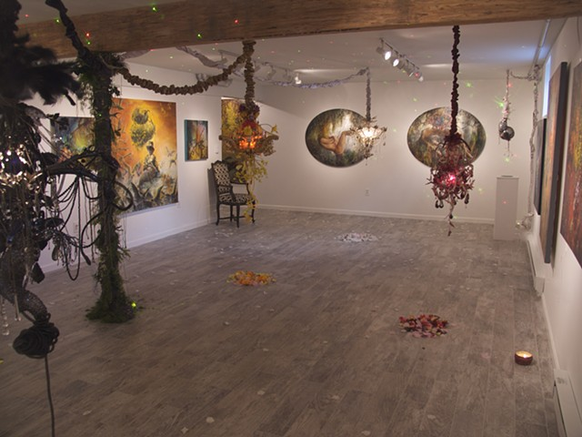 Alchemical Perception: Voices,Vimanas,Vibrations installation view 6