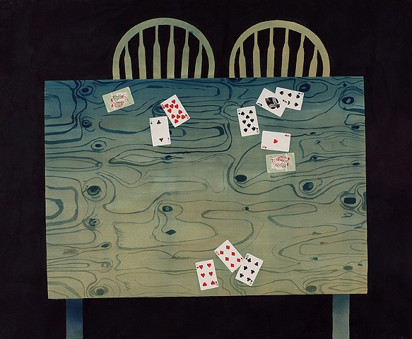 card table  (brothers and sisters)