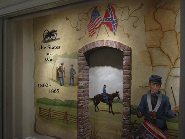 Cleveland Civil War Museum, New Castle Delaware.