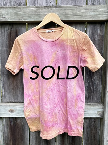 Goldenrod and Cochineal Dye Short Sleeve T-Shirt Need Supply Size S $55