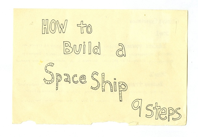 how to build a spaceship :: SPEED READING