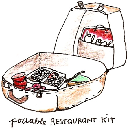 portable restaurant kit