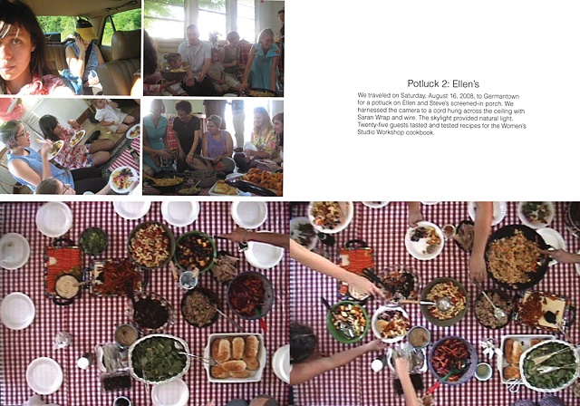 SP potluck book still