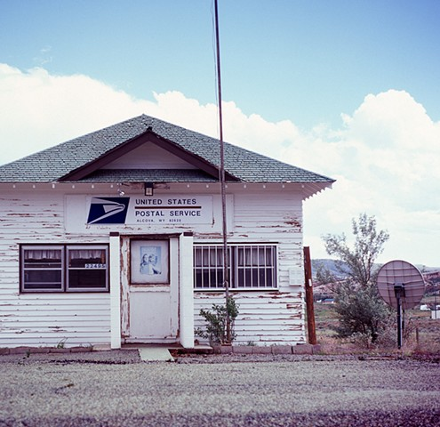 Post Office - Alcova, WY