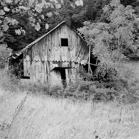 Broken Barn Route 60, West Virginia