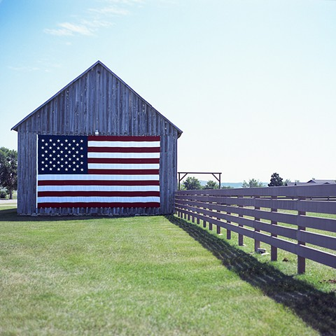 Red, White and Barn