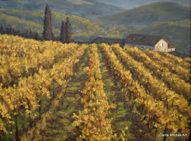 """Mountain Vineyard"""