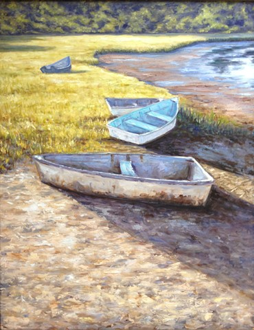 """Boats at Low Tide"""