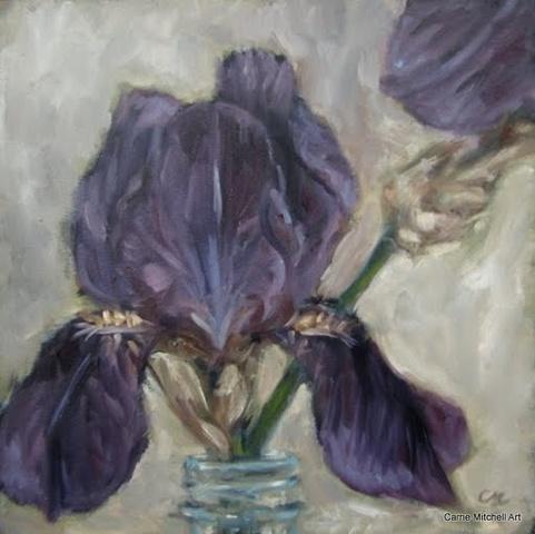 """""""Beth's Irises I"""""""