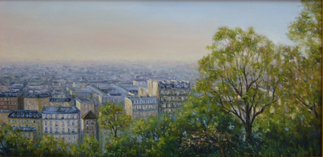 """View from Sacre Coeur""             (Paris)"