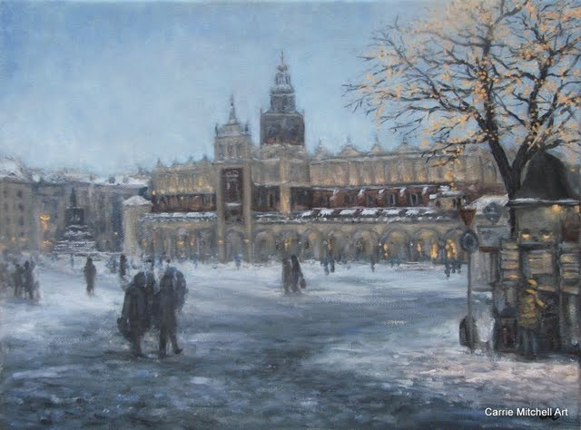 """Evening in Krakow"""