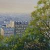 """View from Sacre Coeur""             (Paris)"