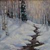 """Aspens in the Snow"""