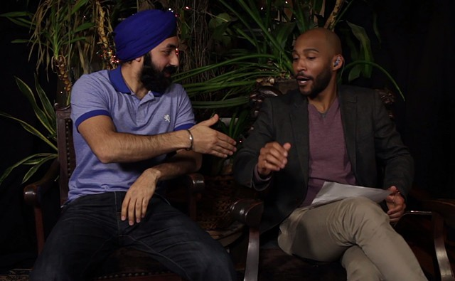 Street Talk with Lucast Peters - Turban Day with Manhair Singh