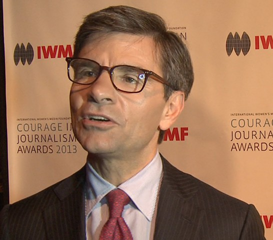 Journalist George Stephanopoulos Interview