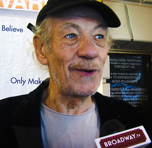 Golden Globe Winner Sir Ian McKellan Interview