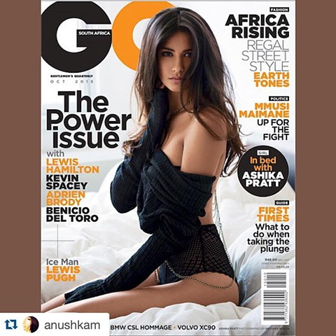 GQ South Africa Cover Story