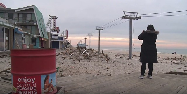 The Jersey Shore After Hurricane Sandy