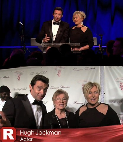 Hugh Jackman Red Carpet Interview and Awards Night