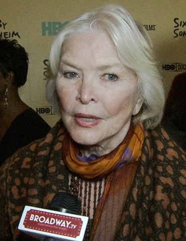 Ellen Burstyn Interview Broadway TV Sondheim