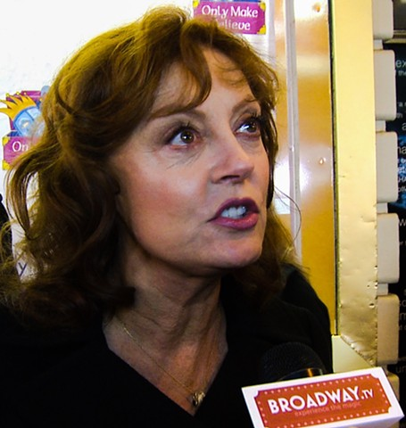 Academy Award Winner Susan Sarandon Interview for Broadway TV