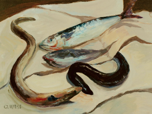Still Life with Eels