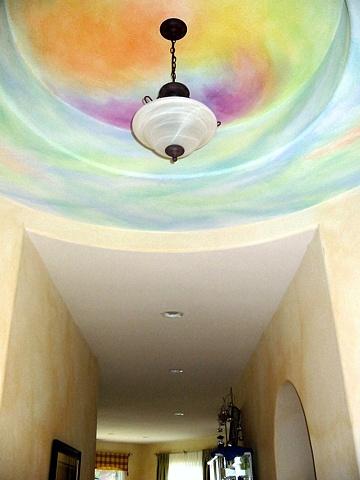 Foyer ceiling, El Dorado Hills, California