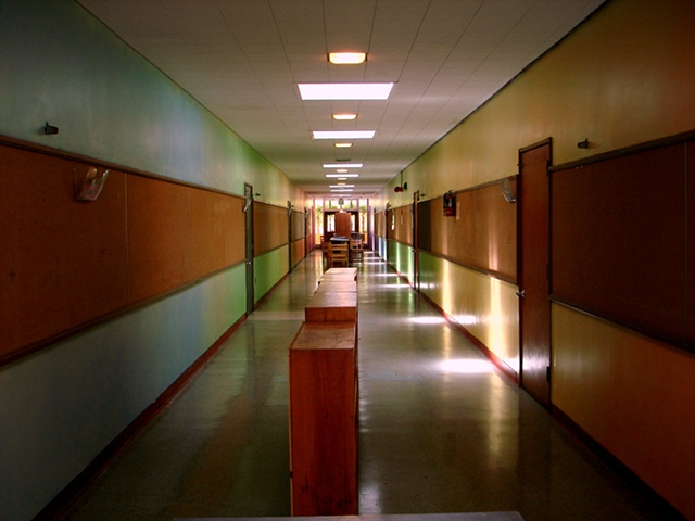 Lower School Hallway/East Bay Waldorf School, El Sobrante, California