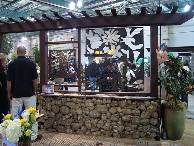 Steel garden screens/Cal Expo