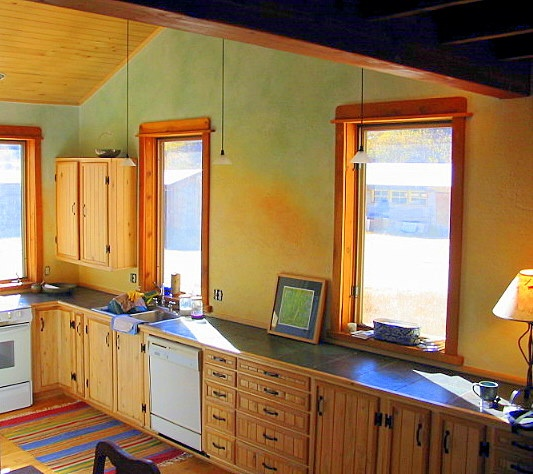 Kitchen in Salida, Colorado