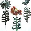 3 Metal Flowers