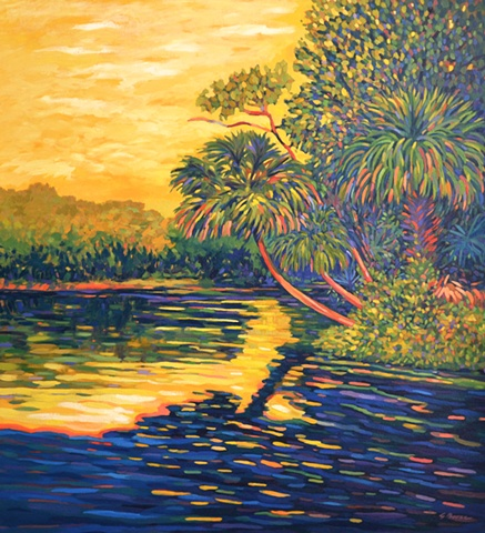 Wekiva painted by Gary Borse
