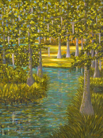 Dreamland painted by Florida Artist Gary Borse is available at Galleria Misto, Bellair Bluffs, FL
