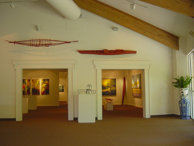Gary Borse exhibit at the Ormond Memorial Art Museum in Ormond Beach, FL