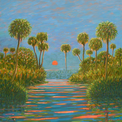 Gulf Serenade by Florida Artist Gary Borse at Plum Contemporary Art Gallery Saint Augustine Florida