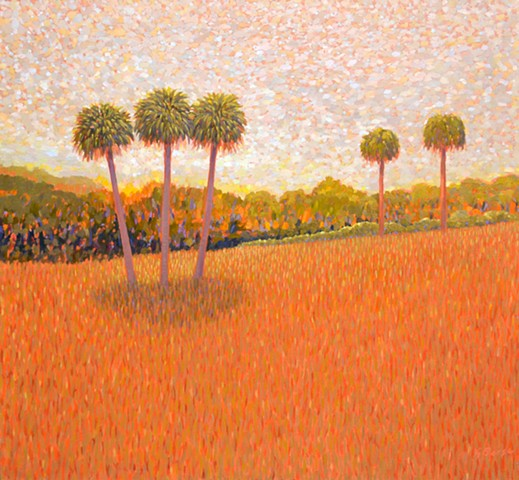 The Hill by Florida Artist Gary Borse is available at Plum Gallery, St Augustine, FL