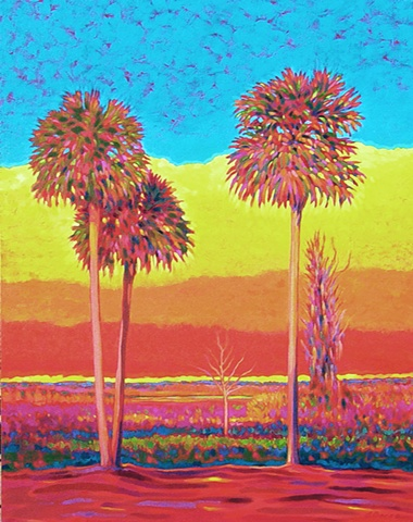 Sunrise Symphony painted by Florida Artist Gary Borse