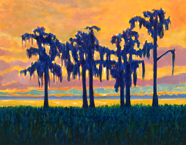 The Guardians painted by Florida Artist Gary Borse