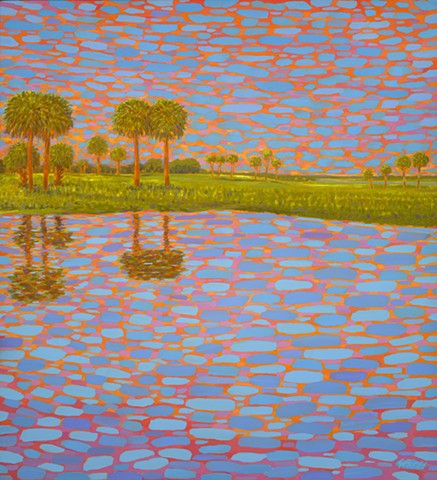 Cathedral by Florida Artist Gary Borse is available at Lombard Contemporary Art Orlando Florida Hyatt Grand Cypress Hotel Art Pop Street Art