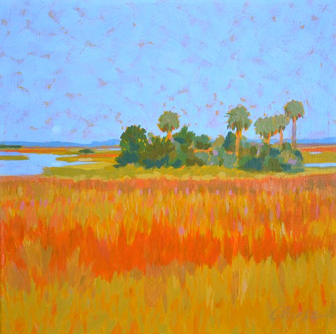 Full Moon Rising by Florida Artist Gary Borse is available at the Harn Museum of Art Gift Shop in Gainesville Florida