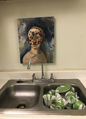 painting over the sink